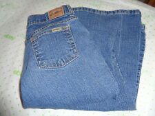$69 Levi Strauss girls stretch 16 1/2 med wash jeans flare low rise pant 30/28