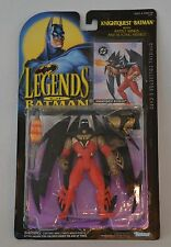 "1994 LEGENDS OF BATMAN ""KNIGHTQUEST BATMAN"" ACTION FIGURE & TRADING CARD MOC"