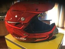 SKI DOO XP-2 PRO SNOW CROSS X-TEAM DIMENSION HELMET ORANGE. (XL).
