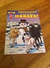 TOTALLY HORSES #4 Comic Book Adventures Magazine Horse Pony 1997 Family Kids old