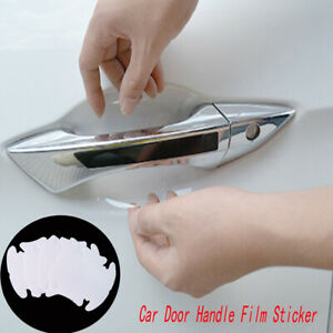 Car Door Handle Clear Films Sticker Protector Anti Scratch Protect Accessories