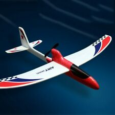 RC Glider Hand Throwing Airplanes Electric Capacitor Educational Toy For Kids