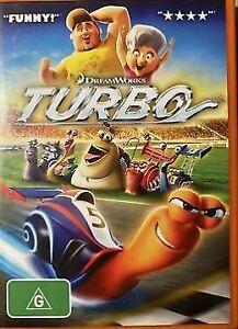 Turbo (DVD, 2013) VGC - FREE POST