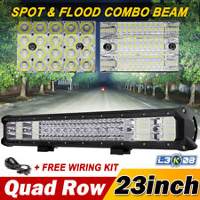 """23inch 2256W PHILIPS LED Work Light Bar Spot Flood Offroad SUV 4WD UTE 20/22/28"""""""