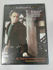 EL ROSTRO IMPENETRABLE DVD MARLON BRANDO ESPAÑOL ENGLISH NEW SEALED NUEVA