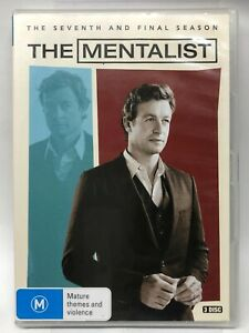 The Mentalist - Complete Seventh Season - 3 DVD Set - AusPost with Tracking