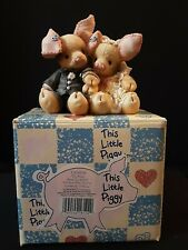 Enesco This Little Piggy To Hog And To Hold 1994 With Box