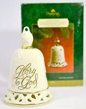 Glory To God - Christmas Celebration Bell Ornament - Dayspring