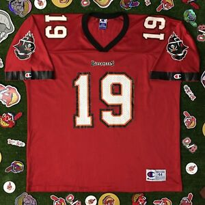 NFL TAMPA BAY BUCCANEERS K. JOHNSON JERSEY CHAMPION REGULAR SEASON Mens Large 44