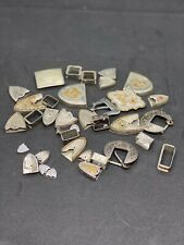 Western Lot Buckles Accessories Supplies Belt making All Metal NOS Not Tested