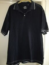 Mens GAP blue Pique Polo size XL