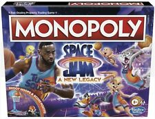 Monopoly Space Jam a Legacy Edition Family Board Game