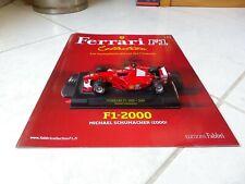 Ferrari F1 2000 Michael Schumacher #3 2000 1/43 F1 ixo altaya Con Fascículo