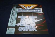 TT QUICK Metal of Honor LP Japan OBI w/sticker Promo Accept Iron Maiden