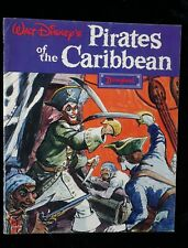 1968 Vintage Pirates Caribbean Souvenir Booklet Book Disneyland
