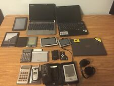 Lot Electronics Netbooks, Tablets, Cell Phones, Calculators - Broken/Defective