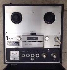 Vintage Teleco Reel to Reel Tape Recorder