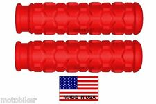 USA MOUNTAIN BIKE BMX FITS EASTERN GIANT HARO JAMIS REDLINE RED HEX HAND GRIPS
