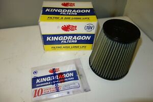 KingDragon free flow air filter nose cone toyota mazda opel bmw ford