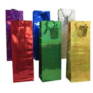 Allgala 12 Pack Hologram Gift Bags