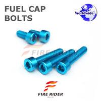 FRW Blue Fuel Cap Bolts Set For Yamaha FZS 1000 FAZER 01-05 01 02 03 04 05