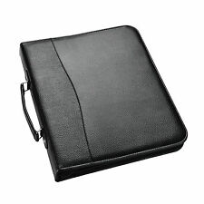 A4 Black Deluxe Executive Conference Folder With Calculator Portfolio Arpan