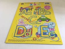 My ABC Cardboard Puzzle Playmore Tray Preschool