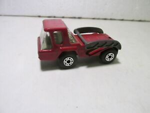 Vintage 1976 Matchbox Lesney Superfast Skip Truck #37 Scale Diecast mb2472