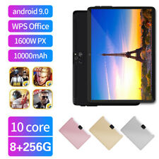 """Android 10.0 8+256GB  10.1"""" Dual SIM 4G Tablet PC with 2.5D Four Cameras"""