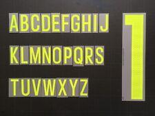 LETTER / LETTRE BELGIUM FLOCAGE TRANSFERT DEKOGRAPHICS ALPHABET BELGIQUE