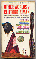 other worlds of clifford simak - vintage paperback science fiction, 1960