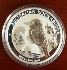 Australia, Moneda de plata,1 Onza S/C año 2019. Kookaburra. Envío Certificado