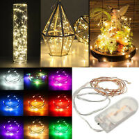 10M 100LEDS COPPER STARRY MICRO WIRE STRING FAIRY PARTY XMAS LED LIGHTS DECOR