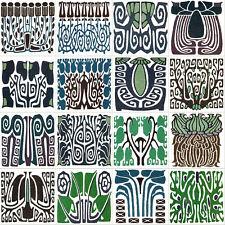 Mural Accent Ceramic Tiles Art Nouveau Backsplash Tile #545
