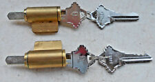 2 KEY IN KNOB LOCK  CYLINDERS  626 FINISH  SC1  C KEYWAY WITH 2 KEYS each