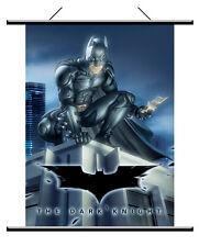 "BATMAN The Dark Knight 2008 Movie 22"" x 32"" Fabric WALL SCROLL POSTER BANNER New"