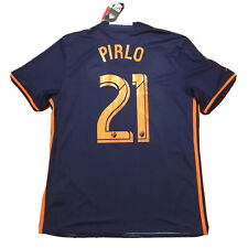 2017/18 New York City FC Away #21 Pirlo Large Football Soccer MLS ITALY NEW