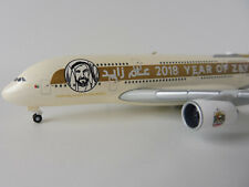 ETIHAD AIRWAYS YEAR OF ZAYED Airbus A380-800 1/500 Herpa 531948 A 380 A380