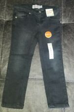 NWT Jumping Beans Girls 4T Skinny Stretch Black Jeans
