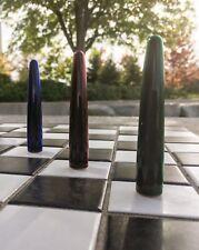 Precious THREE Waterman Edson Emerald Green, Ruby red, Sapphire Fountain pen NOS
