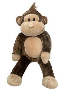 "Build-A-Bear Plush Chimpanzee Monkey Plush Stuffed Animal Brown Soft 20"""