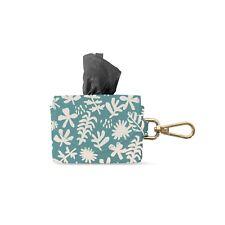 Fringe Studio Desert Flower Faux Leather Waste Bg Keychain