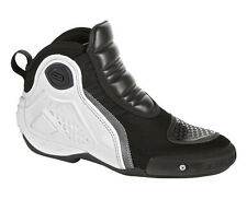Dainese Motorcycle Dyno Boots Black White Size EU 44