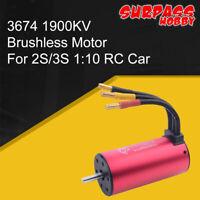 SURPASSHOBBY 3674 1900KV Brushless Motor for 1:10 1:8 RC Racing Off-road Car