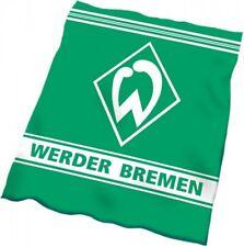 """Werder Bremen Veloursdecke """"Rahmen"""" Fanartikel Kuscheldecke"""