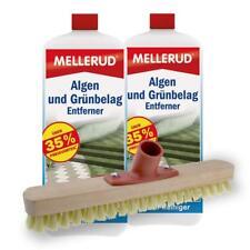 2er Pack Mellerud Algen und Grünbelag Entferner (2 x 2 Liter) inkl. Schrubber