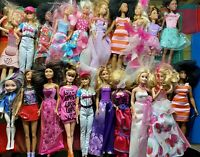 Bulk Lot Of 20 Dolls - Barbie & Others - Ranging From 2000s Vintage Lot Some 60s