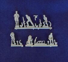 Milicast 1/76 British LRDG Figure Set 4: Six Figures of Gunners at the Ready FIG