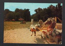 SAINTE-GENEVIEVE-des-BOIS (91) JEUX & MANEGE de CHEVAUX de bois animé au PARC