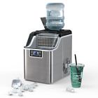 Portable Ice Maker 40Lbs/24H Countertop Self-Cleaning w/Basket and Ice Scoop photo
